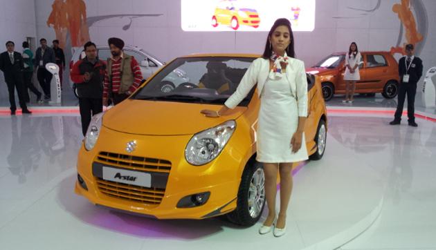 Maruti A-Star Cabriolet showcased: Visitors taken aback