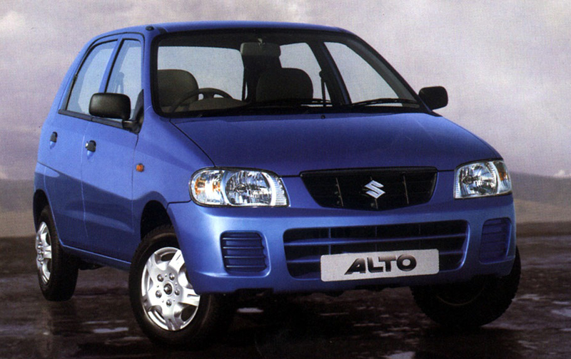 Maruti Alto comes ahead of Volkswagen Golf for the second time in a row