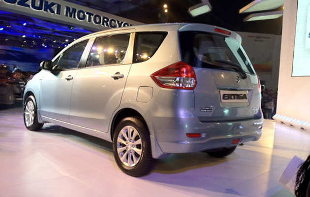 Maruti Suzuki Ertiga finally comes out of secrecy