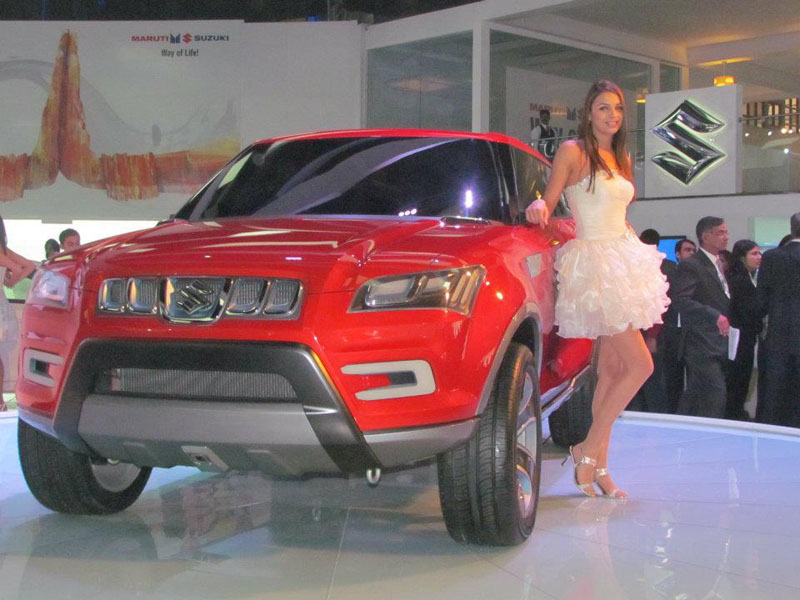 Maruti Pulls Wraps Off Compact SUV Concept XA Alpha