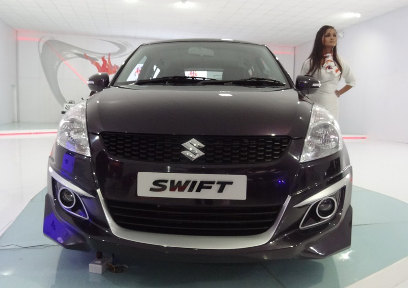 Maruti showcases a sporty Swift, SX4 Crossover and SX4 Poise