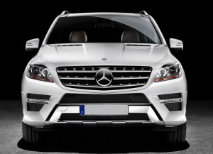 New Mercedes Benz ML350