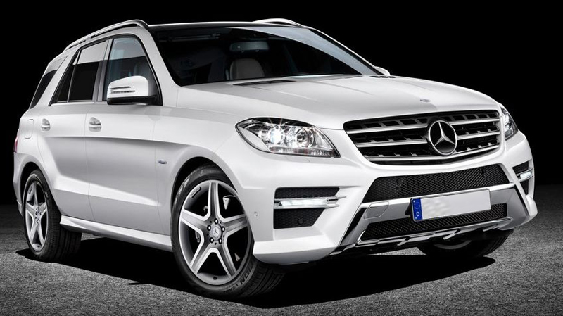 New Mercedes Benz ML350