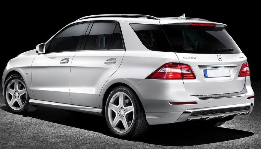 New Mercedes Benz ML350 ...