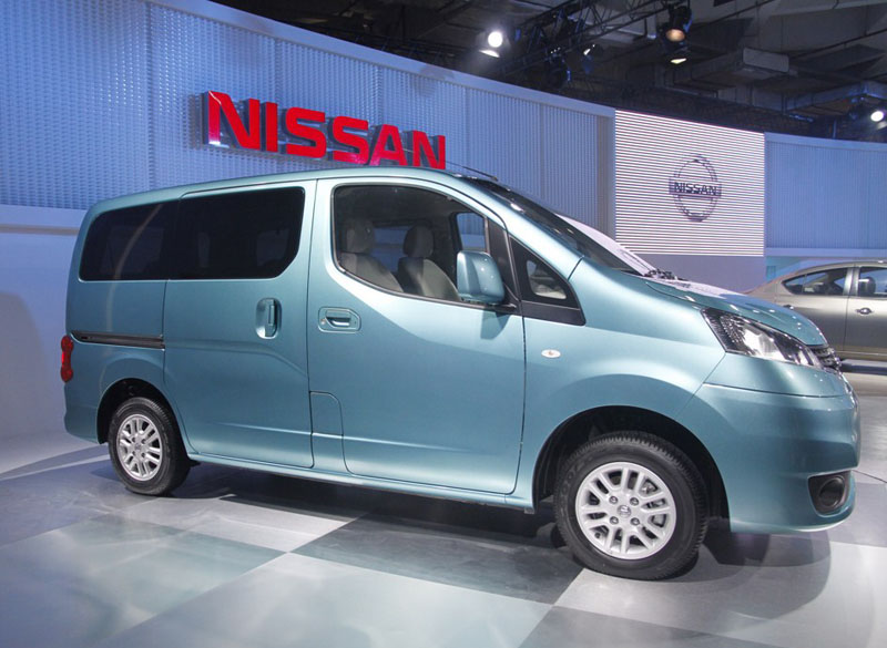 Nissan NV200 has been renamed Nissan Evalia