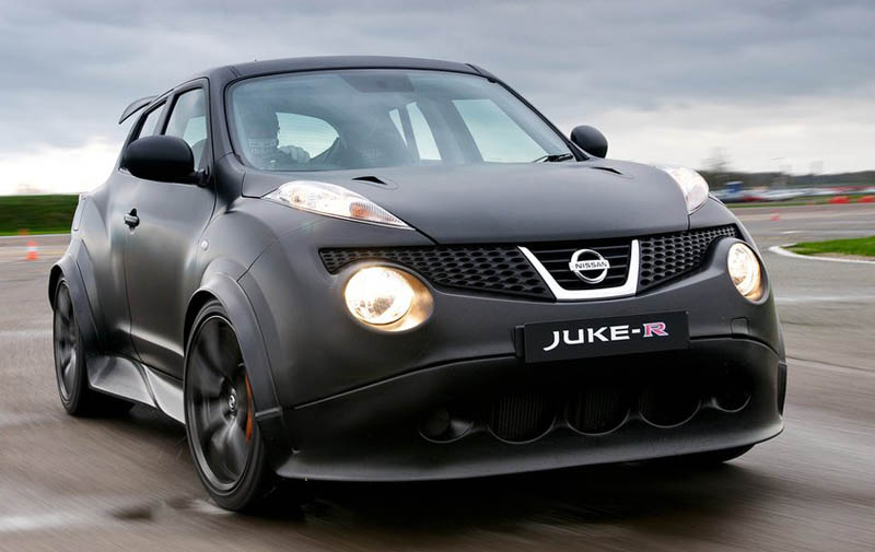 Nissan confirms the Juke-R performance statistics