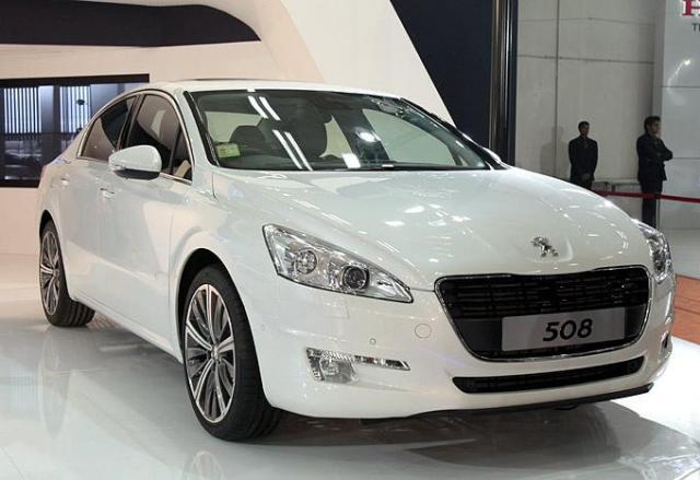 Peugeot 508 in India