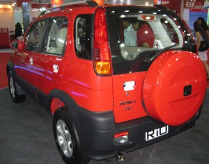 Premier unveils three variants of Rio at the 2012 Auto Expo