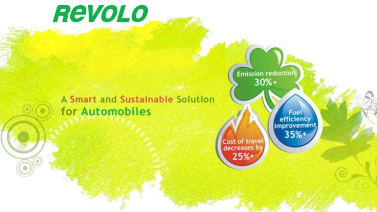 REVOLO hybrid solution to increase mileage by 35% and lessen emissions by 30%