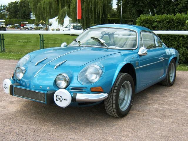 Renault Alpine A110 at Paris Motor Show