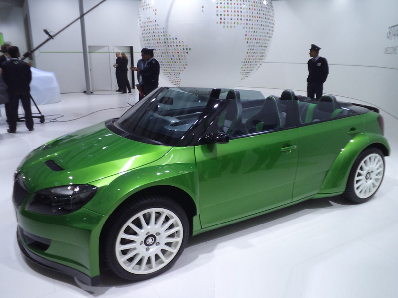 Skoda Fabia RS 2000 at 2012 Auto Expo