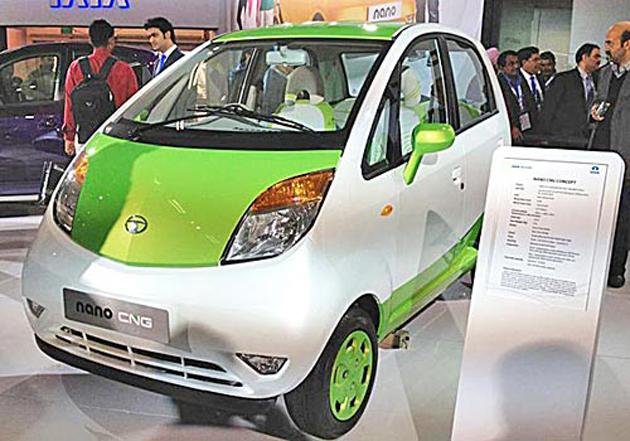Tata Nano CNG in Auto Expo 2012