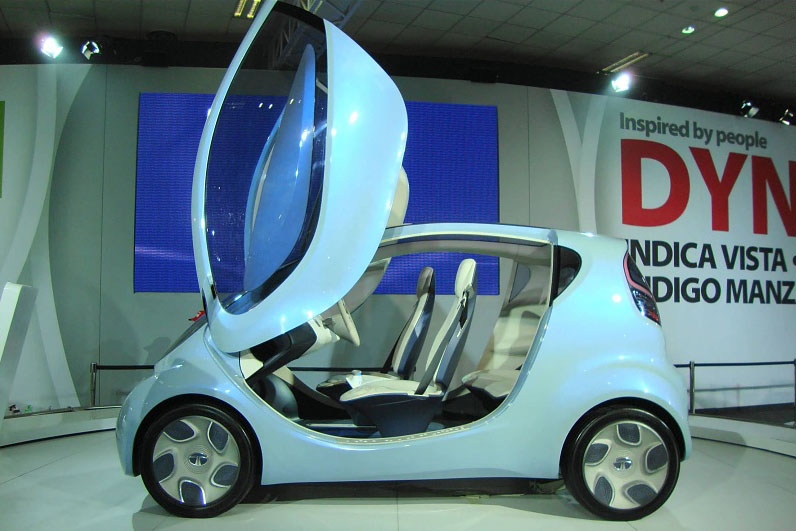 TATA Pixel wows visitors at the Auto Expo