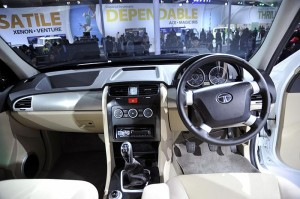 Tata Safari Storm interior