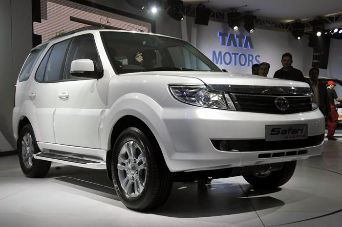 Tata Safari Storm launched at 2012 Auto Expo