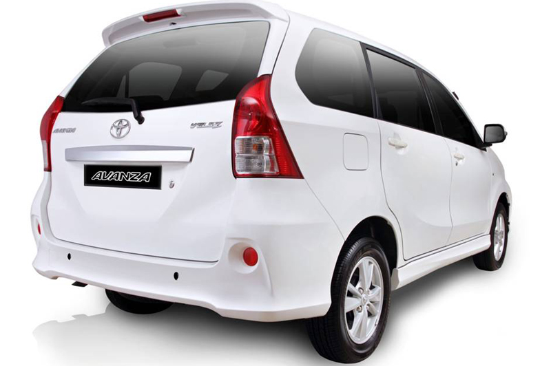 Toyota Avanza in India Preview