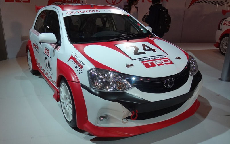 Toyota Etios Motor Racing Series Introduced at 2012 Auto Expo