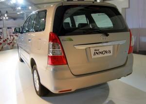 Toyota Innova at 2012 Auto Expo