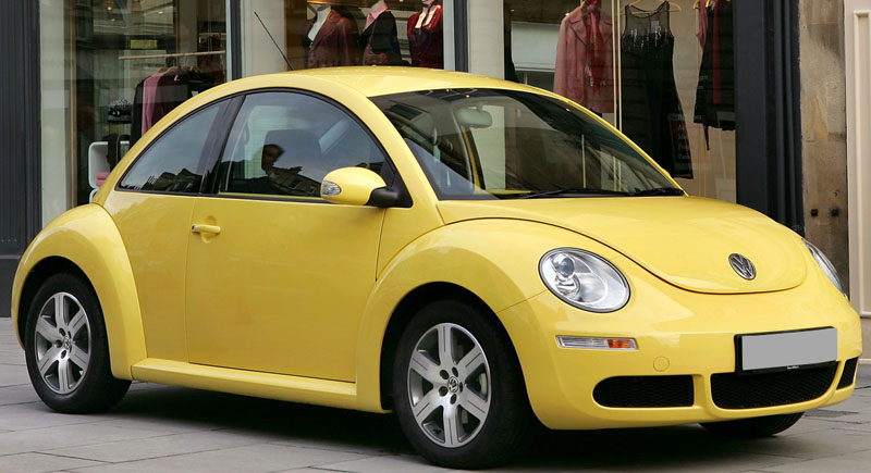 Volkswagen Beetle in India