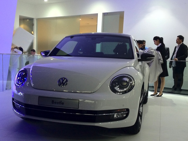 Volkswagen launches Touareg and unveils the XL1 concept car and 2012 Beetle