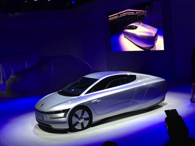 Volkswagen XL1 concept car