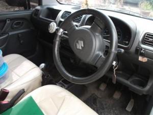 Wagon R interior