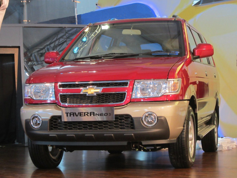 2012 Chevrolet Tavera Neo priced at Rs.6.72 lakh