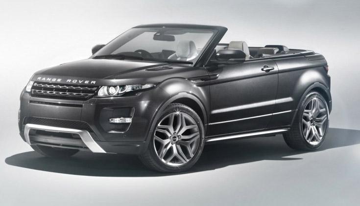 2012 Range Rover Evoque Convertible Concept