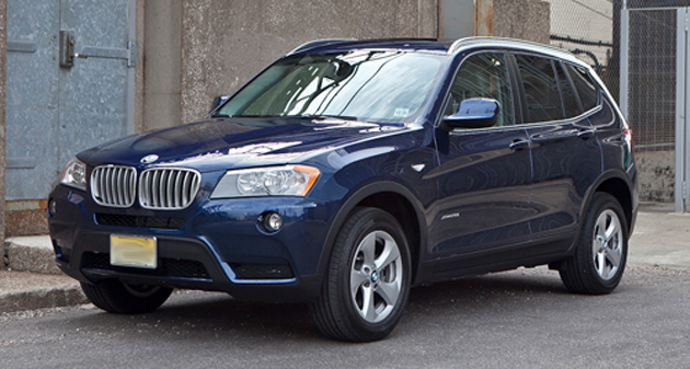 2013 BMW X3 to Get Four-Cylinder Option