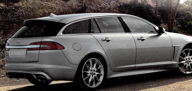 2013 Jaguar XF Sportbrake images leak