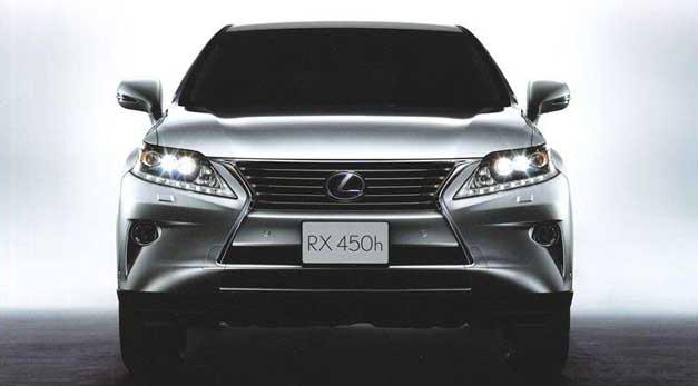 2013 Lexus RX facelift ahead of Geneva Motor Show