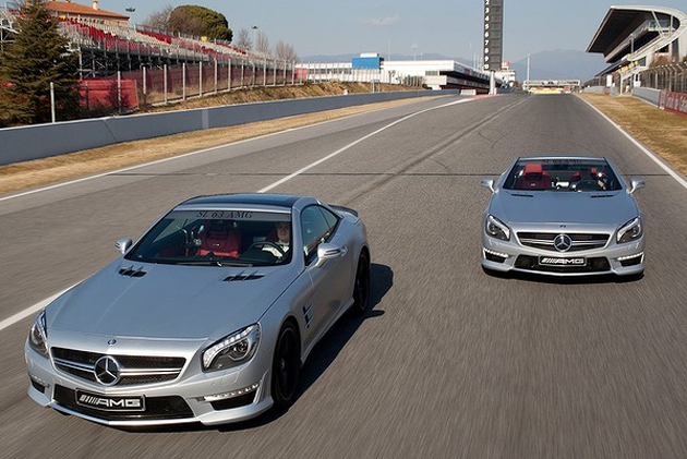 2013 Mercedes-Benz SL63 AMG revealed