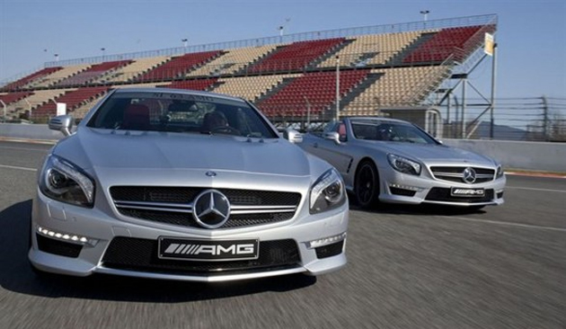 2013 Mercedes-Benz SL63 AMG revealed
