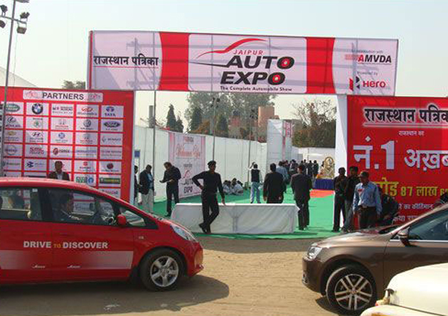 A glance at 2012 Jaipur Auto Expo