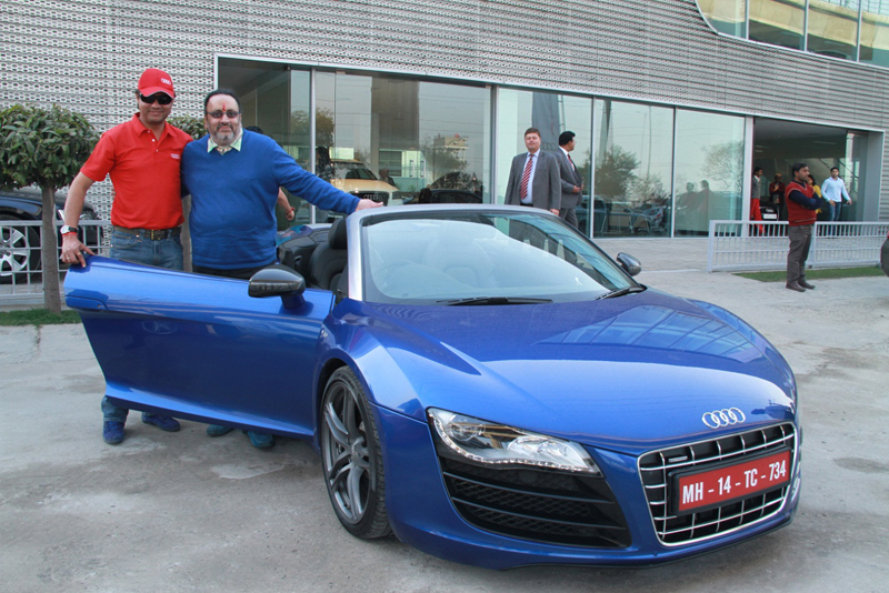 Audi kicks-off the Audi R-Drive in India