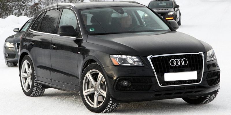 Audi new Q5: facelift spy shots