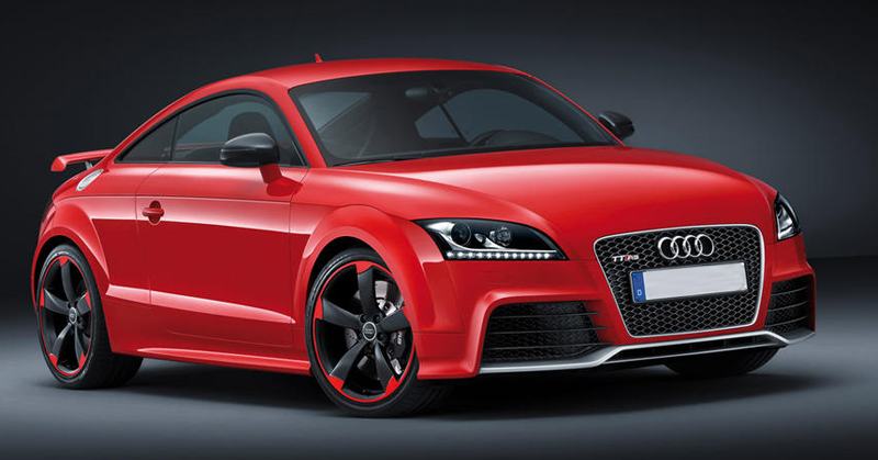 Audi revealed new TT RS 'plus'