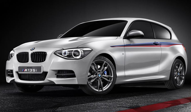 BMW's M135i is a three-door hatch