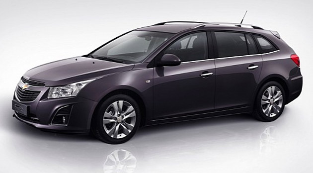 Chevrolet Cruze Facelift unveiled