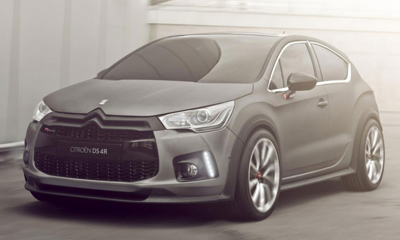 Citroen DS4 Racing Concept to debut at Geneva