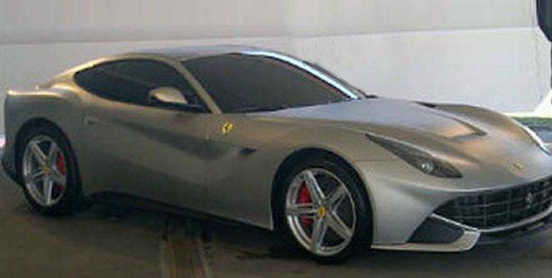 Ferrari 599 replacement images leaked