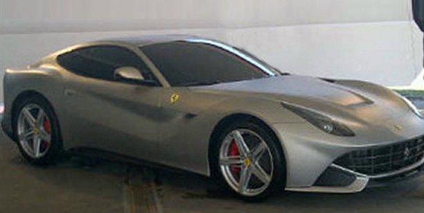 Ferrari 599 replacement images leaked
