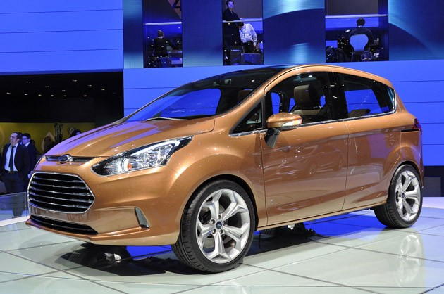 Ford B Max set to make a late 2013 entry into the Indian car markets