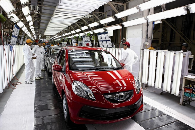 Honda resumes production today at Greater Noida plant