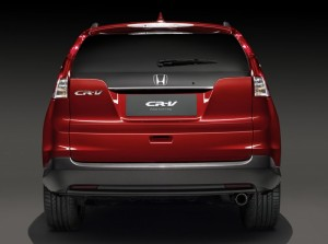 Honda shows European CR-V prototype ahead of Geneva