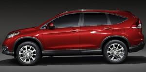 Honda shows European CR-V prototype ahead of Geneva