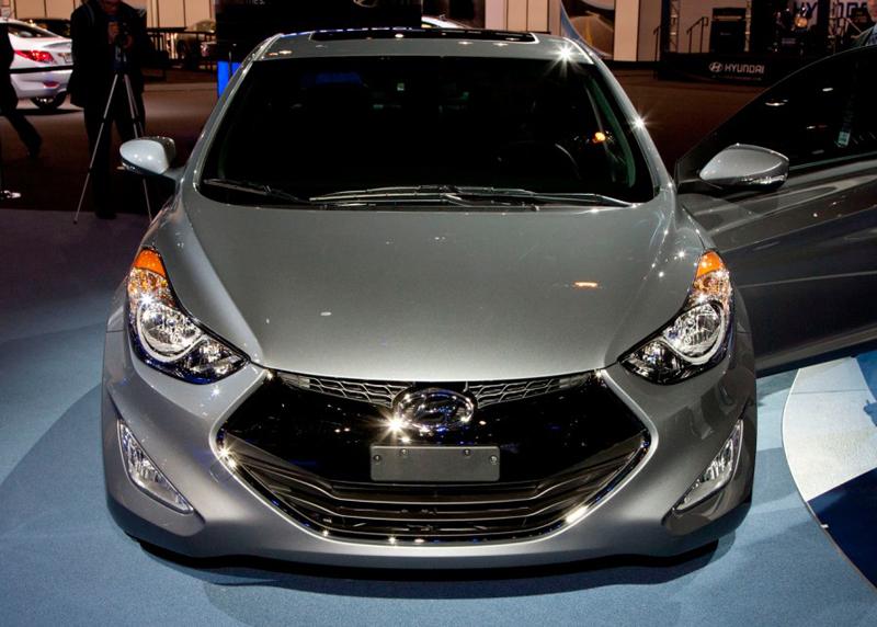 Hyundai Elantra Coupe 2013 Unveiled