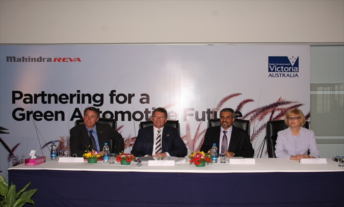 Mahindra Reva ties up with Australian State of Victoria for R&D