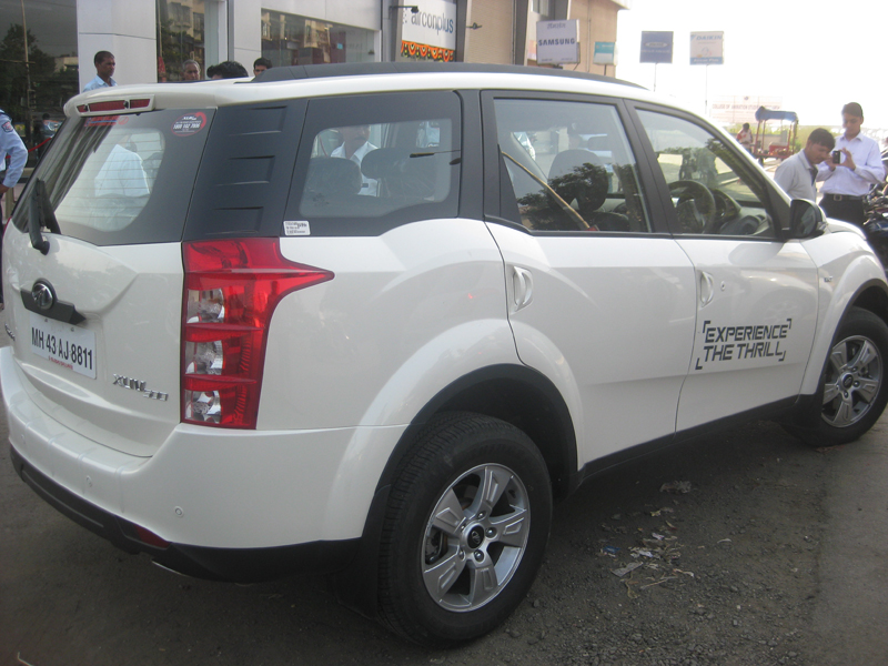 Mahindra XUV500 in India