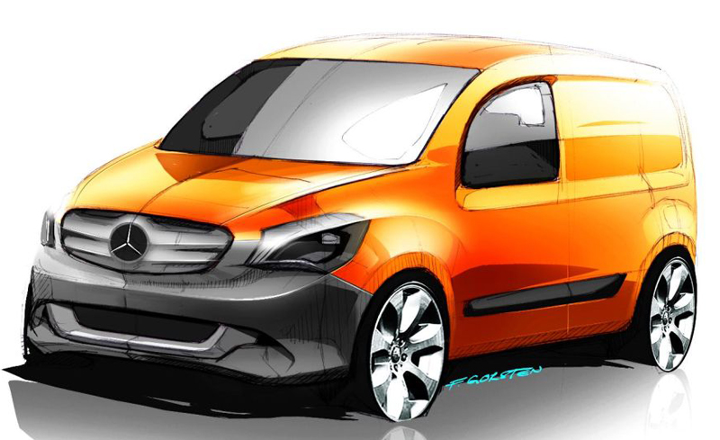 Mercedes Benz Citan MPV appears